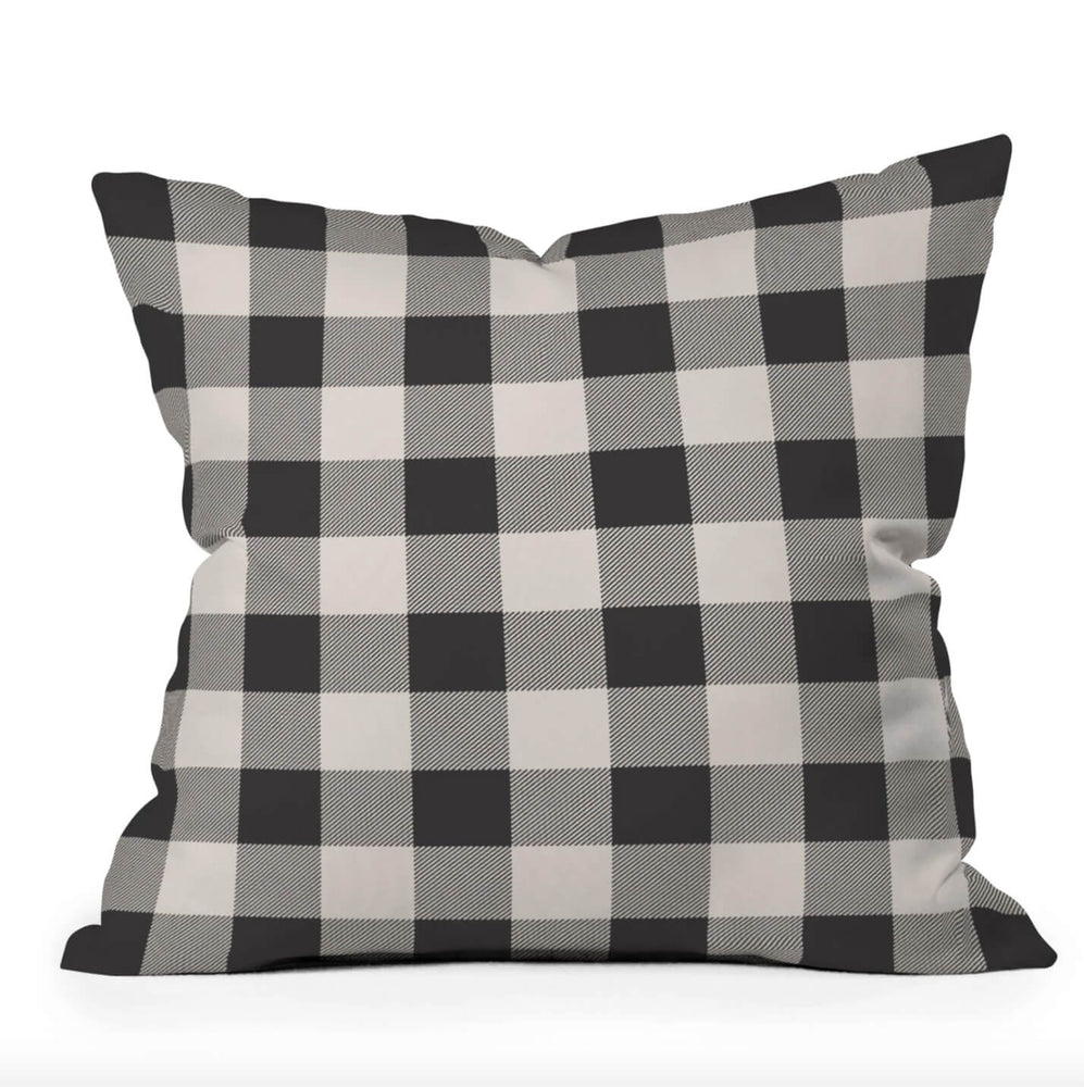 Buffalo Plaid Holiday Throw Pillow