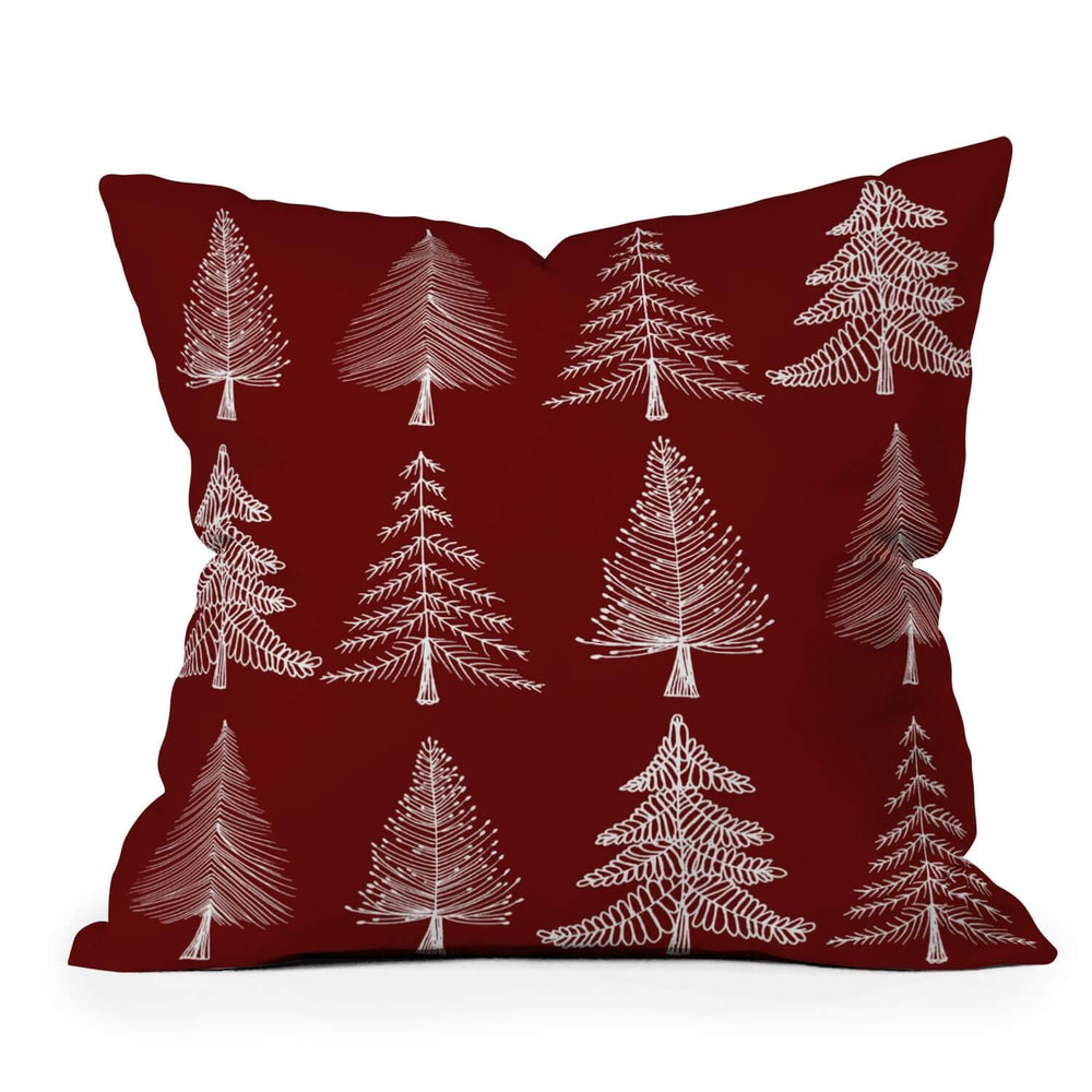 Christmas Miracle Holiday Throw Pillow