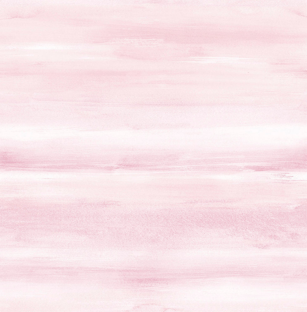 DA60101 pink kids watercolor wash nursery wallpaper from the Day Dreamers collection by Seabrook Designs