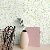 SD40506SG teeny blossom floral wallpaper office from Say Decor
