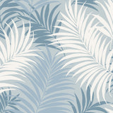 LN10102 via palma tropical palm leaf wallpaper from the Luxe Retreat collection by Lillian August