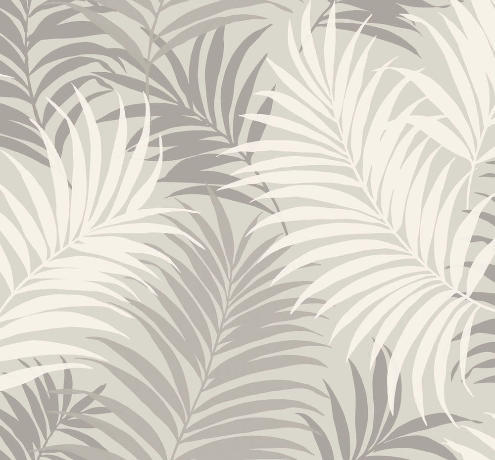LN10108 via palma tropical palm leaf wallpaper from the Luxe Retreat collection by Lillian August