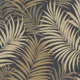 LN10110 via palma tropical palm leaf wallpaper from the Luxe Retreat collection by Lillian August