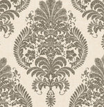 LN10400 Antigua damask wallpaper from the Luxe Retreat collection by Lillian August