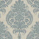 LN10402 Antigua damask wallpaper from the Luxe Retreat collection by Lillian August