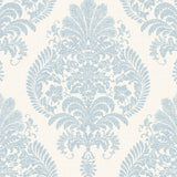 LN10412 Antigua damask wallpaper from the Luxe Retreat collection by Lillian August
