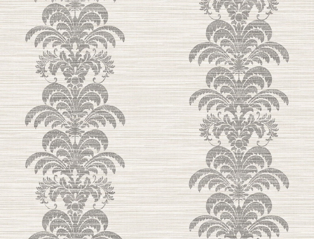 LN10500 stringcloth damask wallpaper from the Luxe Retreat collection by Lillian August
