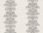 Lillian August Luxe Retreat Palm Frond Stripe Stringcloth Wallpaper
