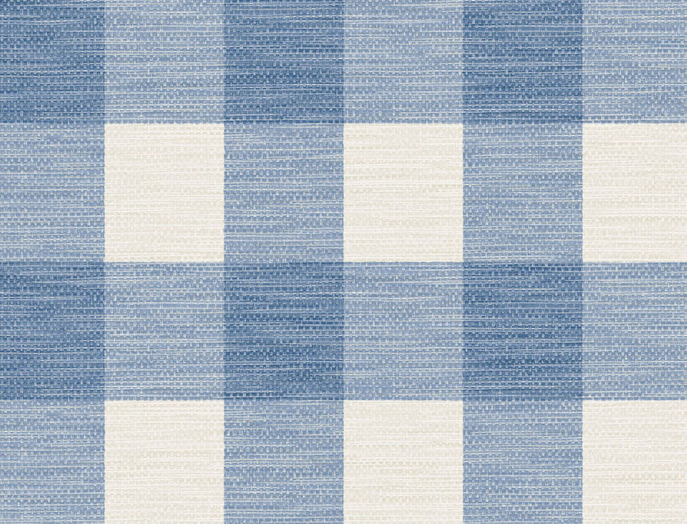 LN10802 gingham faux linen wallpaper from the Luxe Retreat collection by Lillian August