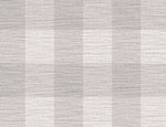 LN10808 gingham faux linen wallpaper from the Luxe Retreat collection by Lillian August