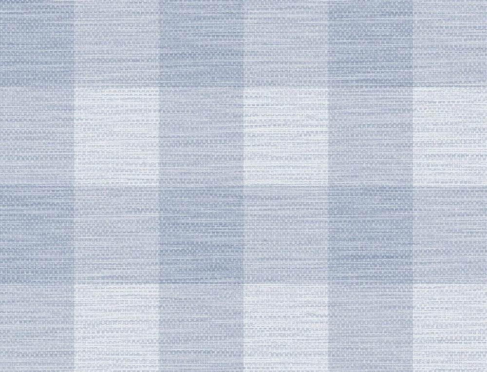 LN10812 gingham faux linen wallpaper from the Luxe Retreat collection by Lillian August
