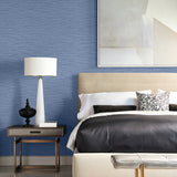 Lillian August Luxe Retreat Faux Linen Weave Wallpaper