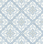 LN11002 Plumosa tile wallpaper from the Luxe Retreat collection by Lillian August
