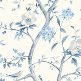 LN11102 Southport floral trail botanical wallpaper from the Luxe Retreat collection by Lillian August
