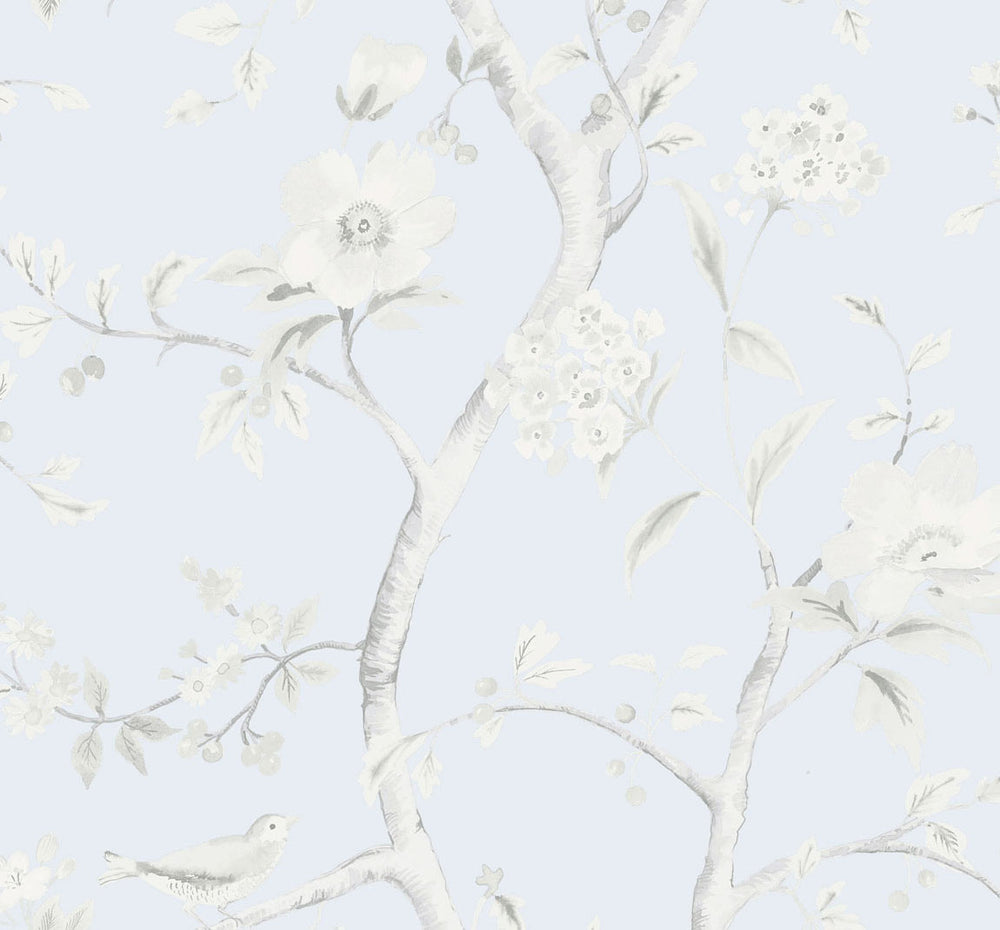 LN11122 Southport floral trail botanical wallpaper from the Luxe Retreat collection by Lillian August