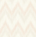 Lillian August Luxe Retreat Regent Flamestitch Stringcloth Wallpaper