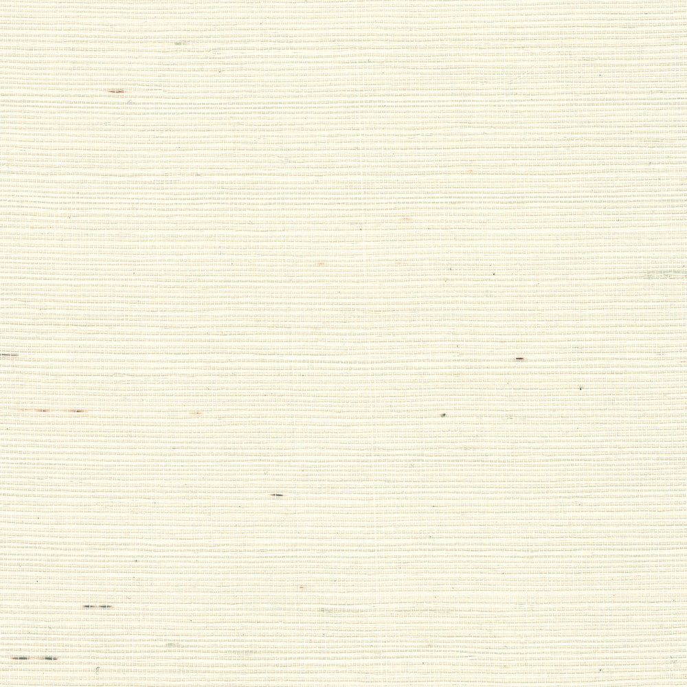 Lillian August Luxe Retreat French Vanilla Sisal Grasscloth Wallpaper