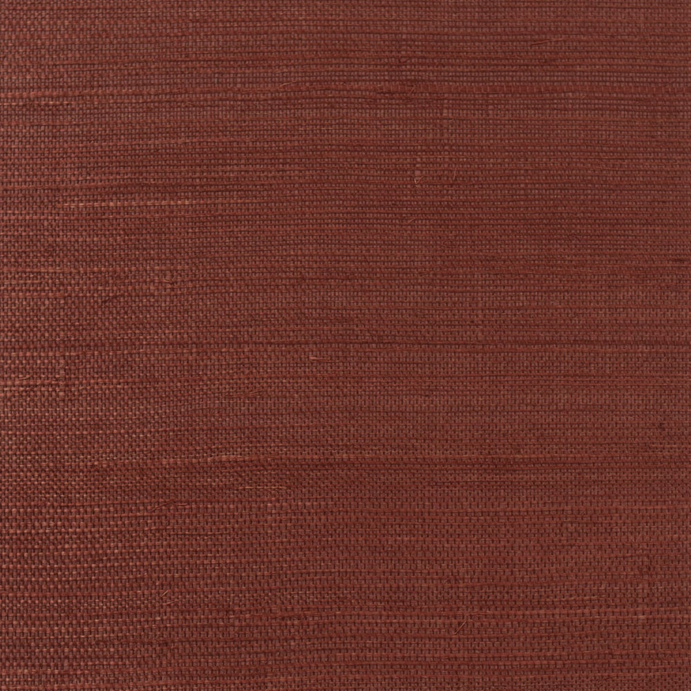 LN11801 red sisal grasscloth wallpaper from the Luxe Retreat collection by Lillian August