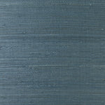 LN11812 blue shimmer jute grasscloth wallpaper from the Luxe Retreat collection by Lillian August