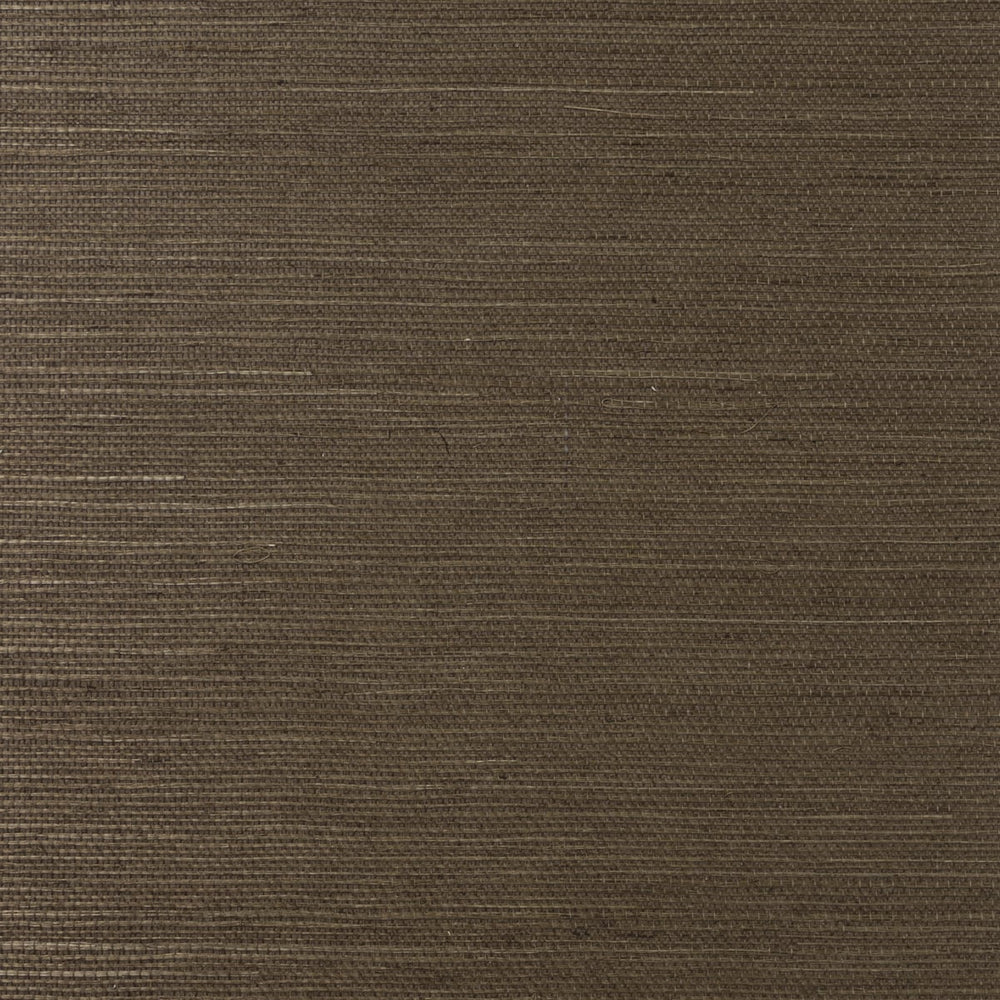 LN11816 shimmer brown sisal grasscloth wallpaper from the Luxe Retreat collection by Lillian August