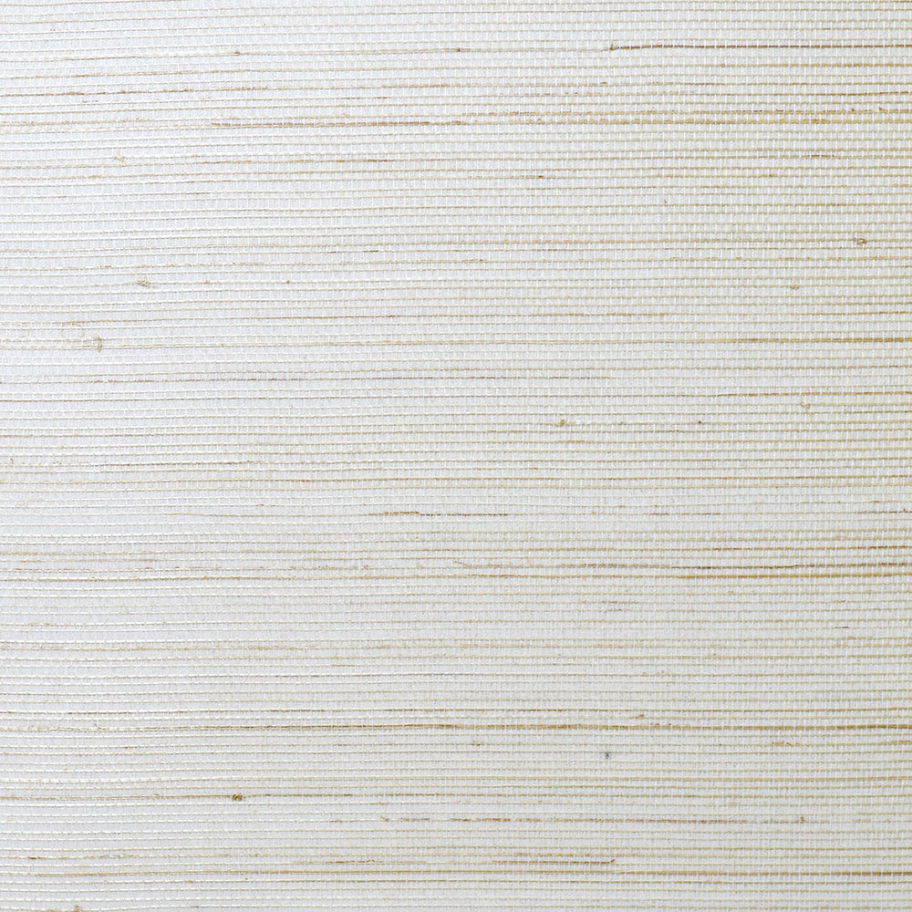 LN11823 glitter white abaca grasscloth wallpaper from the Luxe Retreat collection by Lillian August