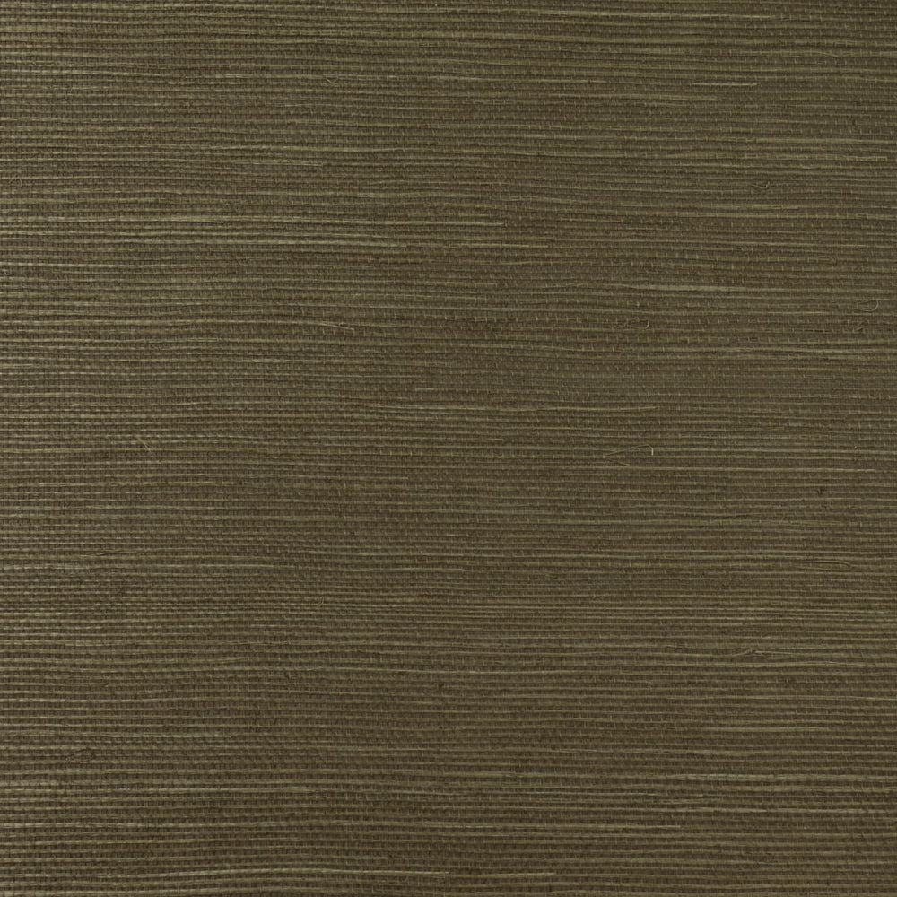 LN11837 shimmer brown sisal grasscloth wallpaper from the Luxe Retreat collection by Lillian August