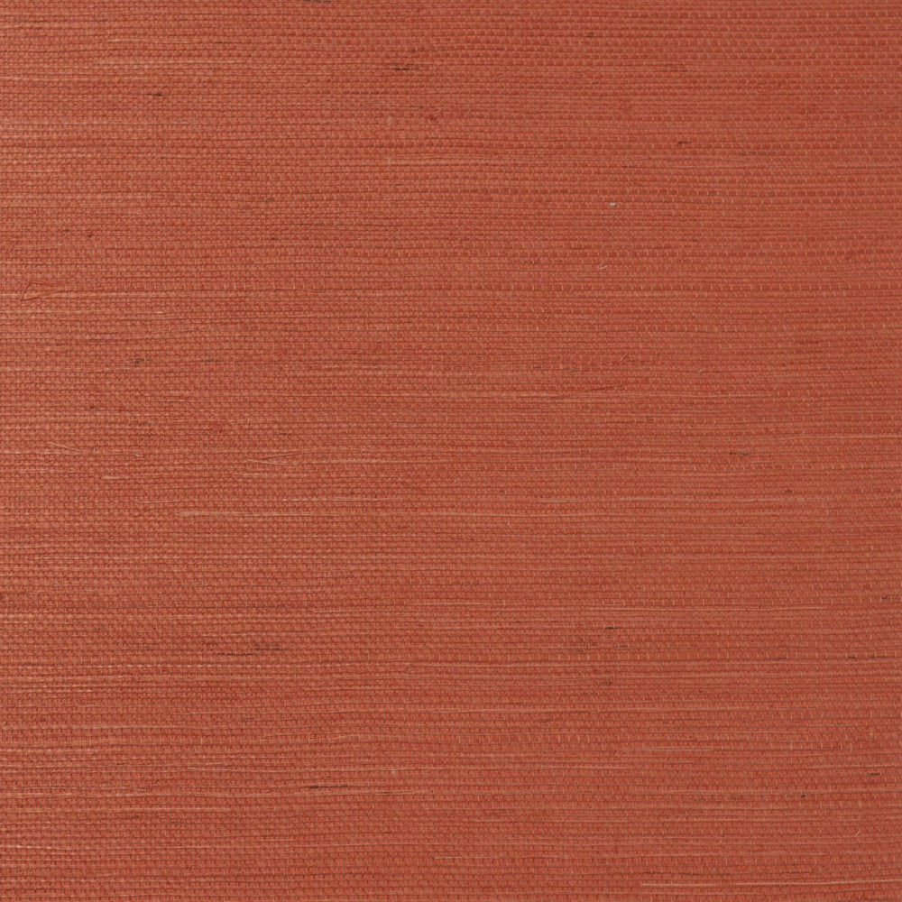 LN11841 shimmer orange sisal grasscloth wallpaper from the Luxe Retreat collection by Lillian August
