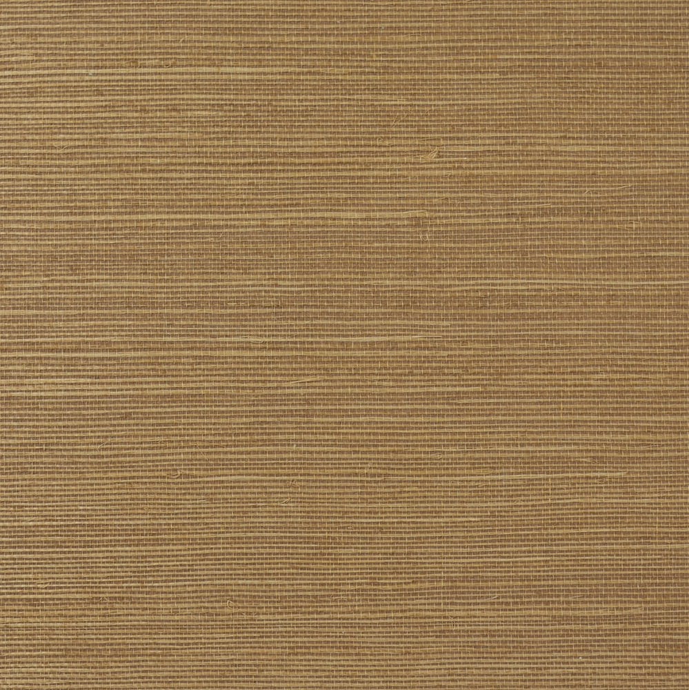 LN11847 shimmer copper sisal grasscloth wallpaper from the Luxe Retreat collection by Lillian August