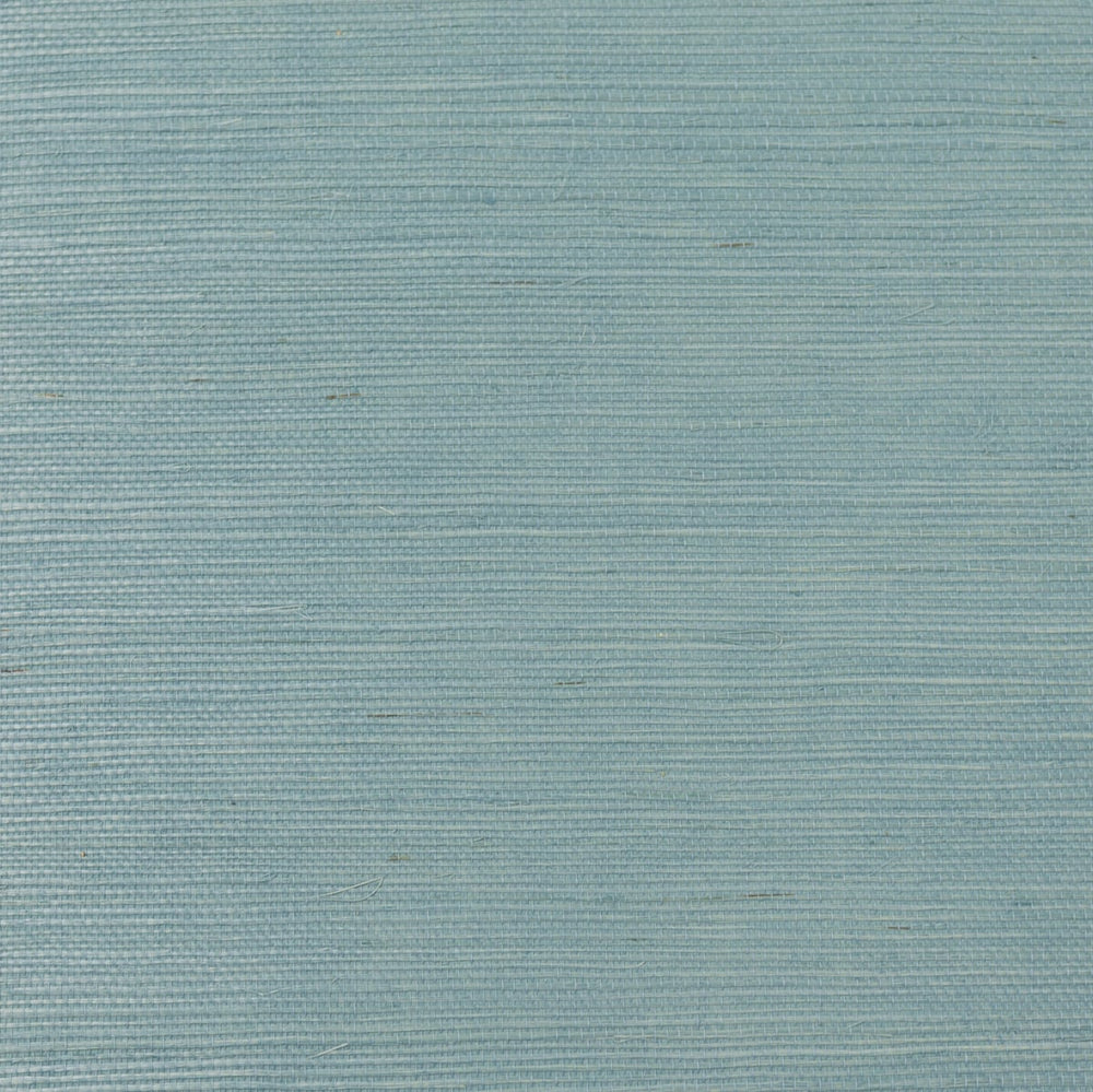 LN11852 shimmer blue sisal grasscloth wallpaper from the Luxe Retreat collection by Lillian August