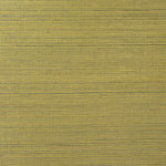 LN11864 metallic gold sisal grasscloth wallpaper from the Luxe Retreat collection by Lillian August