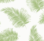 Lillian August Luxe Haven Tossed Palm Peel and Stick Removable Wallpaper