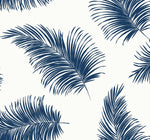 LN20312 tossed palm peel and stick removable wallpaper from the Luxe Haven collection by Lillian August