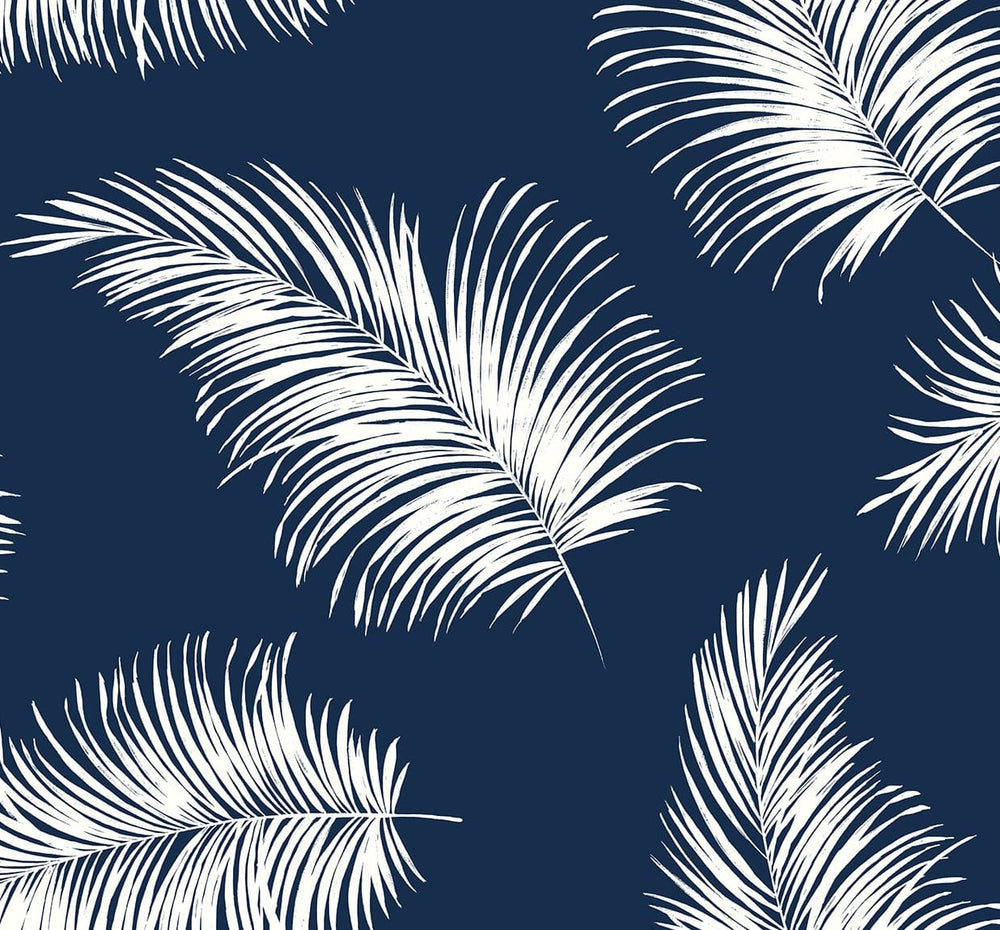 LN20322 tossed palm peel and stick removable wallpaper from the Luxe Haven collection by Lillian August