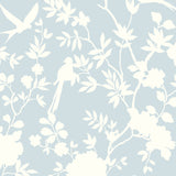 LN20502 mono toile chinoiserie peel and stick removable wallpaper from the Luxe Haven collection by Lillian August