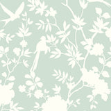 LN20504 mono toile chinoiserie peel and stick removable wallpaper from the Luxe Haven collection by Lillian August
