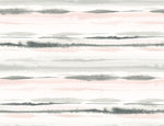 LN20601 horizon stripe abstract peel and stick wallpaper from the Luxe Haven collection by Lillian August