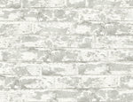Lillian August Luxe Haven Soho Brick Peel and Stick Removable Wallpaper