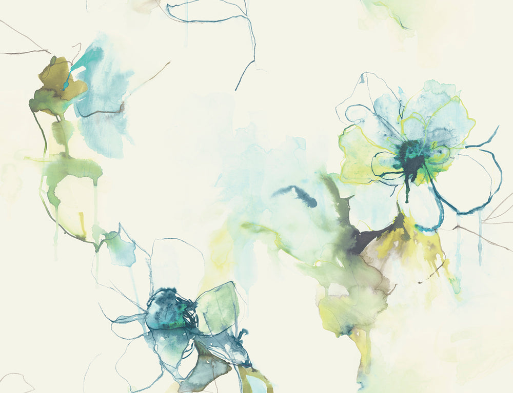 LW50004 Floral Wallpaper from the Living with Art collection by Seabrook Designs