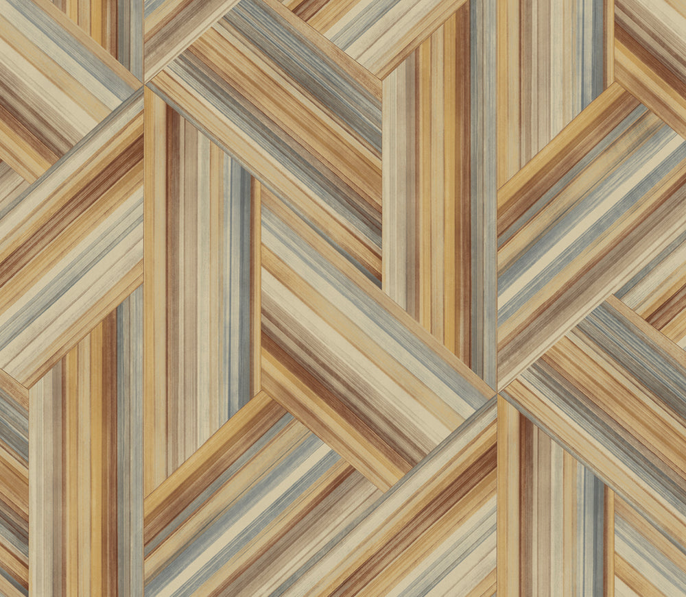 LW51906F striped geometric fabric from the Living with Art collection by Seabrook Designs