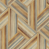LW50106 Geometric Wallpaper from the Living with Art collection by Seabrook Designs
