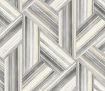 LW51908F striped geometric fabric from the Living with Art collection by Seabrook Designs
