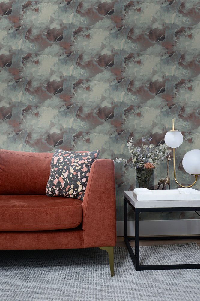 Seabrook Designs Living with Art Notch Trowel Abstract Wallpaper