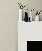 Seabrook Designs Living with Art Hopsack Embossed Vinyl Wallpaper