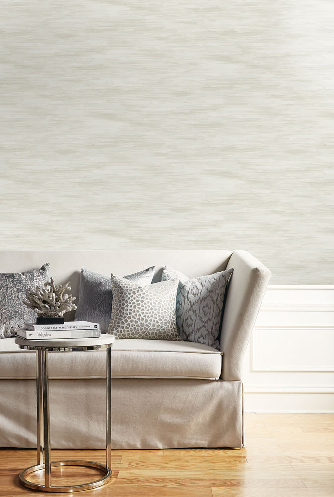Seabrook Designs Living with Art Stria Wash Faux Wallpaper