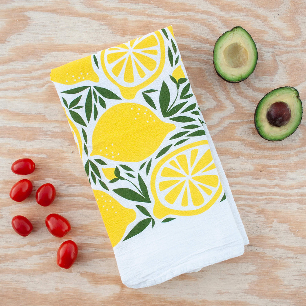 Hazelmade Classic Lemon Tea Towel