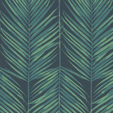 MB30004 palm leaf wallpaper from the Beach House collection by Seabrook Designs