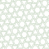 MB30104 green sun shapes geometric wallpaper from the Beach House collection by Seabrook Designs