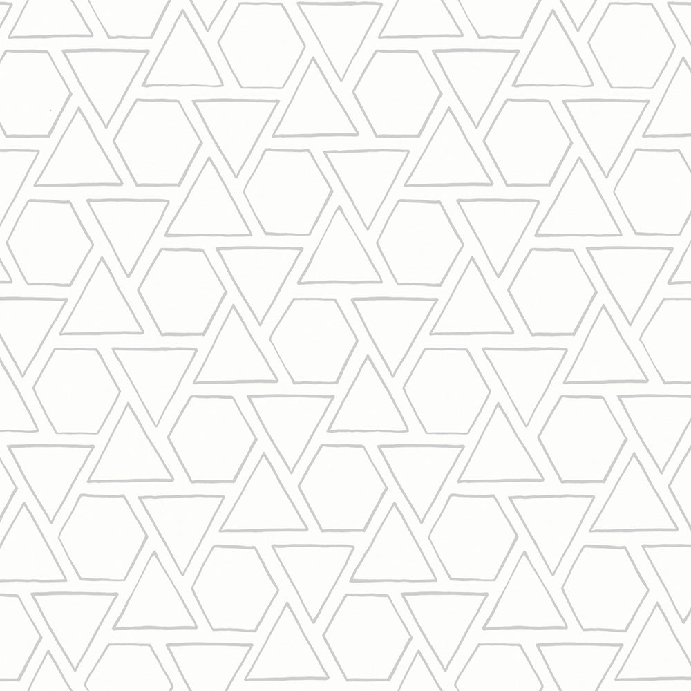 MB30105 gray sun shapes geometric wallpaper from the Beach House collection by Seabrook Designs