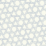 MB30112 blue sun shapes geometric wallpaper from the Beach House collection by Seabrook Designs