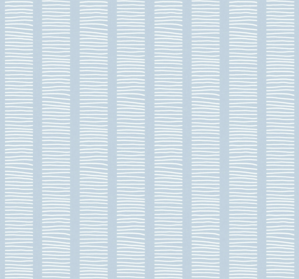 MB30402 blue coastline striped wallpaper from the Beach House collection by Seabrook Designs